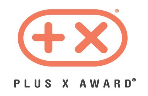 plus x Award Logo