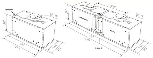 Cache Modular Technical Drawing