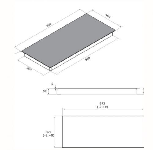 Integra 90 Technical Drawing
