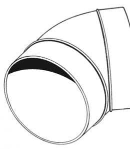 Round Elbow Bend