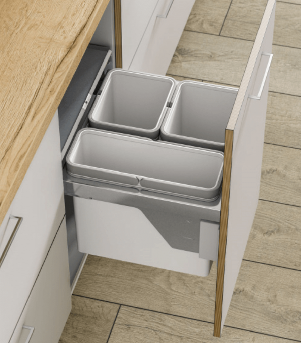Side Mounted Waste Bins 3 GWA