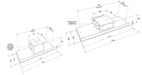 Stratus Blade Technical Drawing GWA